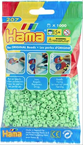 1.000 Stück Rot Hama Perlen