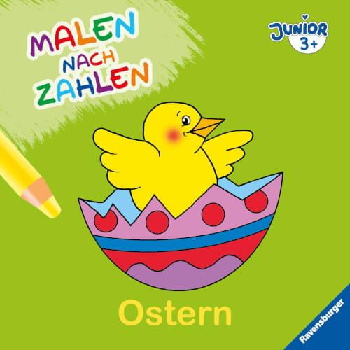 Ravensburger 55530 Malen Nach Zahlen Junior Ostern 55530