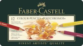 Faber-Castell KUENSTLERFARBST.12  MET.ETUI