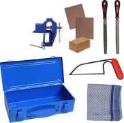 Kids at Work Werkzeug Set Metall Box 01 - Zum Sägen und Schleifen