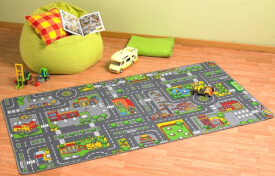 Spielteppich City 100 x 190 cm