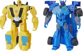 Hasbro E3522EU4 Transformers CYB Action Attackers 1-Step Changer, ab 6 Jahren