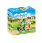 PLAYMOBIL 70193 Patient im Rollstuhl