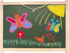 Wandtafel aus Buchenholz