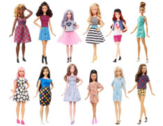 Mattel Barbie Fashionistas Puppen Sortiert