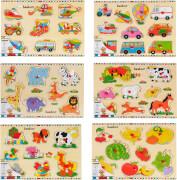 Beeboo Einlegepuzzle 7-10-teilig