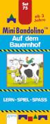 Arena - Mini Bandolino - Set 75: Auf dem Bauernhof, Pappe, 12 Seiten, ab 3-6 Jahren
