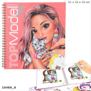 Depesche 10469 Create your TOPModel Kitty Malbuch