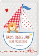 Fotokarten-Box - Babys erstes Jahr - Meilensteine BabyGlück