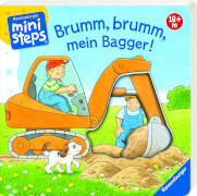 Ravensburger 31691 Bliesener, Brumm, brumm, Bagger! 18+m