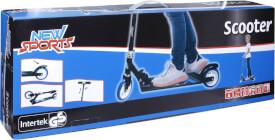 New Sports Scooter Blau/Weiß, 125 mm, ABEC 7