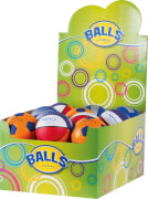 4/100 MM PU-SCHAUMBALL SOCCER, VOLLEY, BASKETBALL, 24 ST. IM DIS