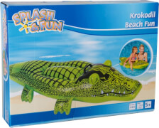 Splash & Fun Aufblaskrokodil, 160 x 50 cm