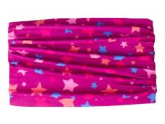 Multifunktionstuch Sterne pink