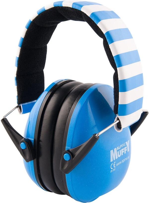 6e0990310cd439 Alpine Muffy Baby Blau - Kapselgehörschützer für Babys und Kleinkinder